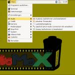 StoMoX-Menü - Audioprogramme