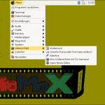 StoMoX-Menü - Videoschnittprogramme